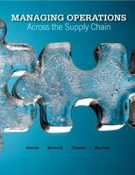 Managing operations across the supply chain - 2011